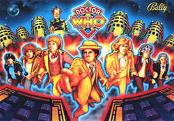 """DOCTOR WHO TRANSLITE"" (BALLY)"