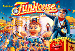 """FUNHOUSE TRANSLITE"" (WILLIAMS)"