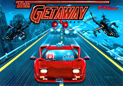 """THE GETAWAY: HIGH SPEED II TRANSLITE"" (WILLIAMS)"