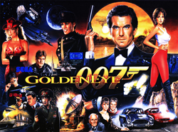 """JAMES BOND 007: GOLDEN EYE TRANSLITE"" (SEGA)"