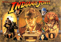"""INDIANA JONES TRANSLITE"" (WILLIAMS)"