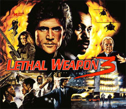"""LETHAL WEAPON 3 TRANSLITE"" (DATA EAST)"