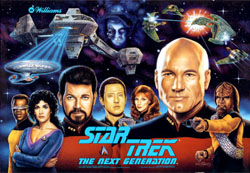 """STAR TREK - THE NEXT GENERATION TRANSLITE"" (WILLIAMS)"