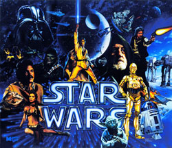 """STAR WARS TRANSLITE"" (DATA EAST)"