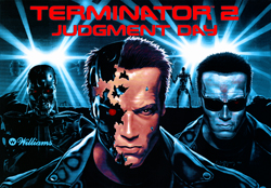 """TERMINATOR 2 TRANSLITE"" (WILLIAMS)"