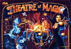 """THEATRE OF MAGIC TRANSLITE"" (BALLY)"